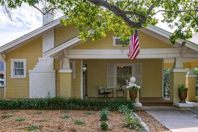 Fort Worth Single Family Home For Sale: 2553 Wabash Avenue