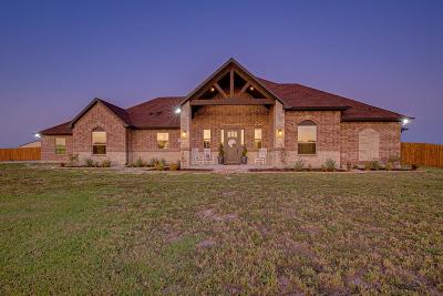 Royse City Single Family Home Active Option Contract: 5851 County Road 2560