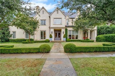 Dallas County Single Family Home For Sale: 6700 Golf Drive