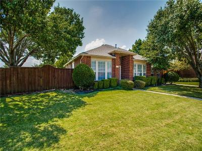 Allen Single Family Home Active Option Contract: 1544 Hickory Trail