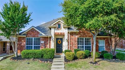 McKinney Single Family Home Active Option Contract: 7800 Laughing Waters Trail