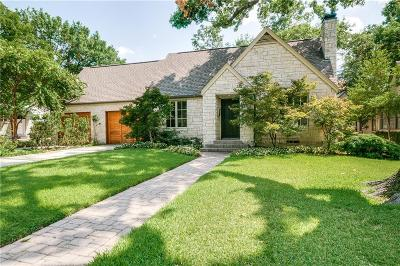 Dallas County Single Family Home For Sale: 5534 W Amherst Avenue