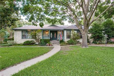 Fort Worth Single Family Home Active Option Contract: 3426 Westcliff Road S