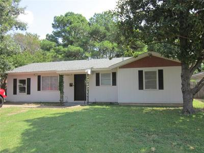 Residential Lease For Lease: 814 Milam Drive