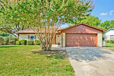 Benbrook Single Family Home Active Option Contract: 1101 Trammell Drive