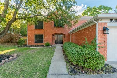 Mansfield Single Family Home For Sale: 1519 Warwick Drive
