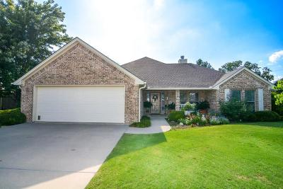 Stephenville Single Family Home Active Option Contract: 1555 Glenwood Drive