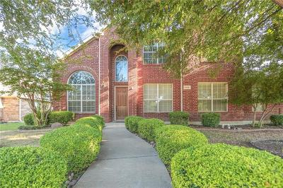 Frisco Single Family Home Active Option Contract: 1634 Double Falls Drive
