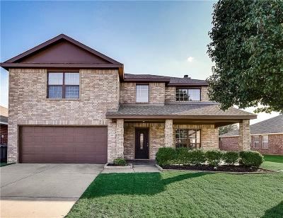 Wylie Single Family Home Active Option Contract: 321 Highland Valley Court