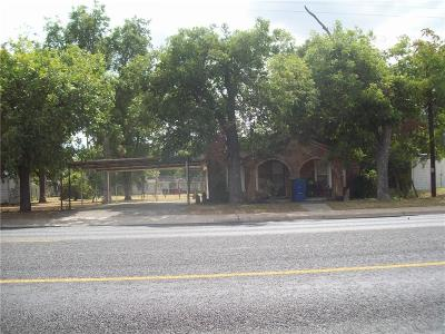 Brownwood TX Single Family Home For Sale: $59,900