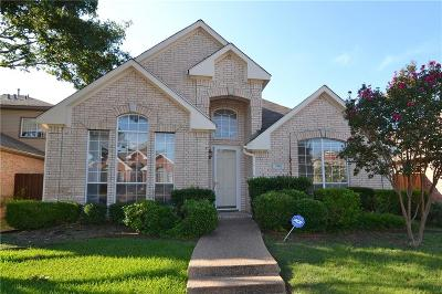 Richardson Single Family Home Active Option Contract: 2716 Carnation Drive