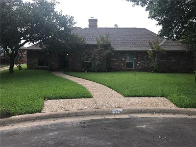 Allen Single Family Home For Sale: 924 Pebblebrook Drive