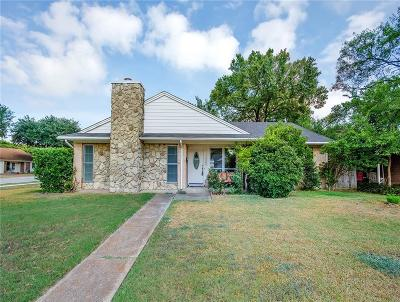 Farmers Branch Single Family Home For Sale: 12322 Amsterdam Road