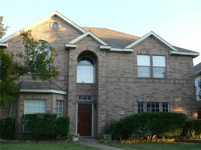 Mckinney Single Family Home For Sale: 4917 Silverweed Drive