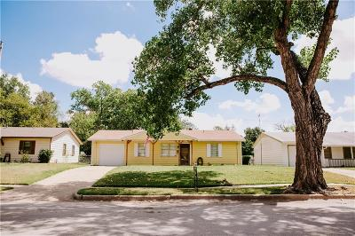 Euless Single Family Home Active Option Contract: 806 Aransas Drive
