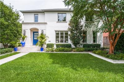 Highland Park Single Family Home For Sale: 4636 Belclaire Avenue