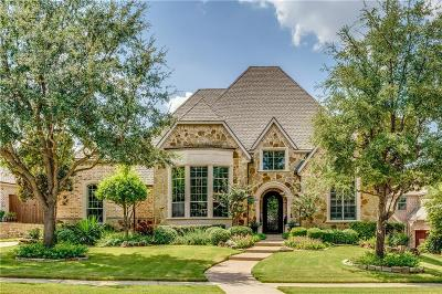 Frisco Single Family Home Active Option Contract: 4743 Heritage Oaks Drive