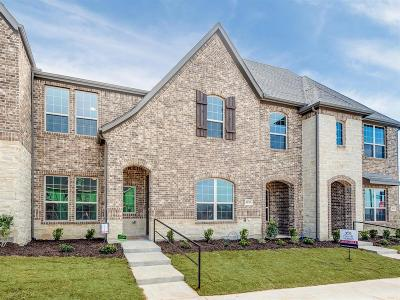 North Richland Hills Townhouse For Sale: 6520 Iron Horse Boulevard