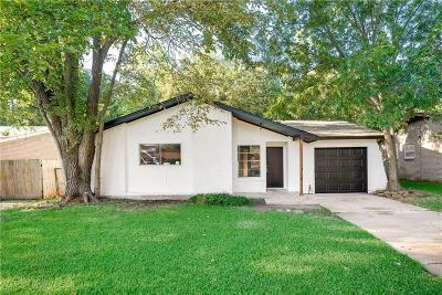 Arlington Single Family Home For Sale: 1502 E Tucker Boulevard