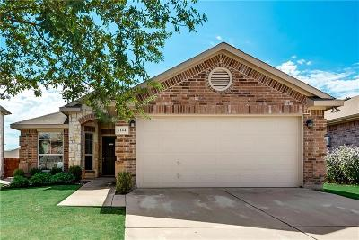 Haltom City Single Family Home Active Option Contract: 5144 Placid Drive
