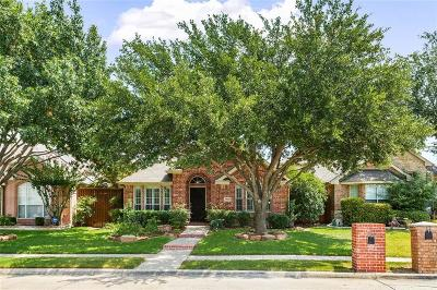 Plano Single Family Home Active Option Contract: 7902 Rosebriar Lane