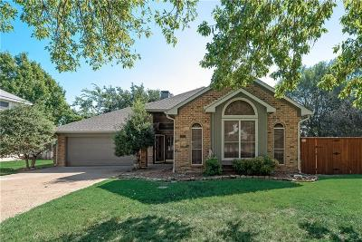 Flower Mound Single Family Home Active Option Contract: 2301 Claremont Court