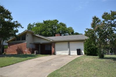 Euless Single Family Home For Sale: 508 Henslee Drive