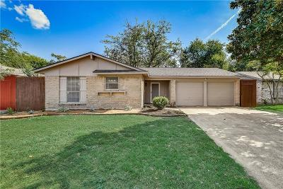 Garland Single Family Home Active Contingent: 1810 Pine Knot Drive