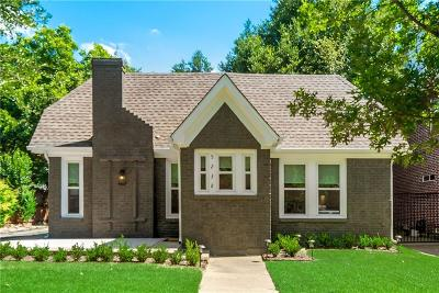 Dallas Single Family Home For Sale: 5238 Ridgedale Avenue