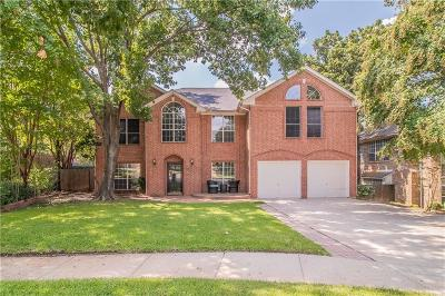 Grapevine Single Family Home Active Option Contract: 4340 Greenwood Lane