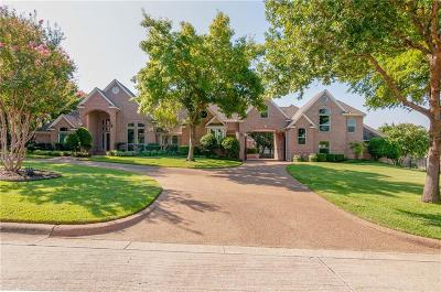 Keller Single Family Home Active Option Contract: 1494 Galilee Drive