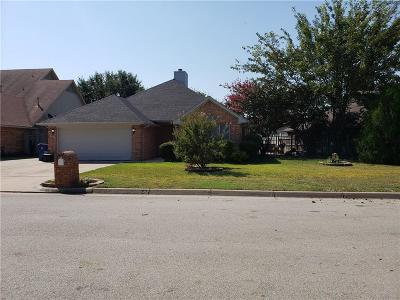 Haltom City Single Family Home Active Option Contract: 4256 Goodnight Circle