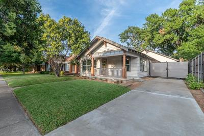 Dallas Single Family Home For Sale: 936 N Windomere Avenue