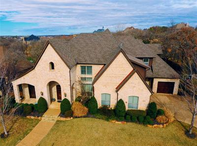 Keller Single Family Home For Sale: 621 Meandering Woods Drive