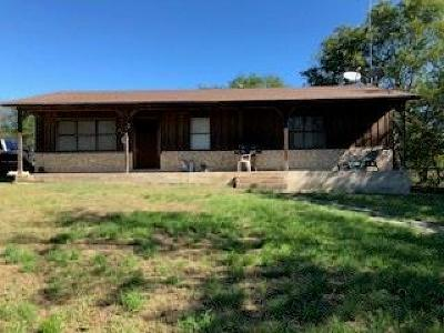 Hamilton TX Single Family Home For Sale: $99,500