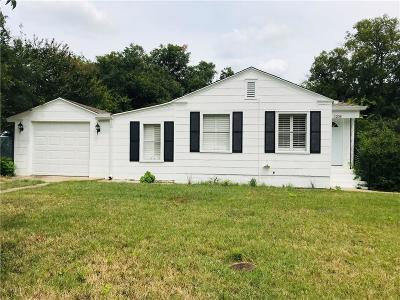 River Oaks Single Family Home For Sale: 1208 Glenwick Drive