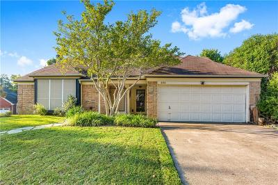 Rowlett Single Family Home For Sale: 8518 Liberty Lane