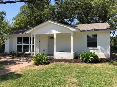 Garland Single Family Home Active Option Contract: 117 W Wanda Drive