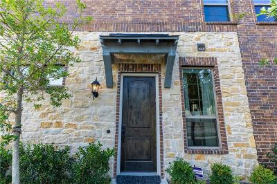McKinney Townhouse For Sale: 7000 Kickapoo Drive