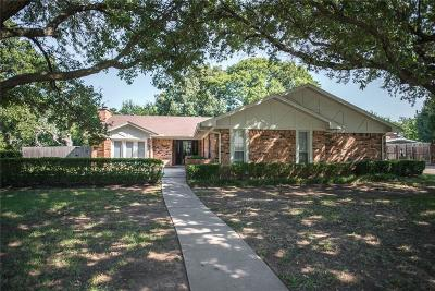 Grapevine Single Family Home Active Option Contract: 3502 Marsh Lane