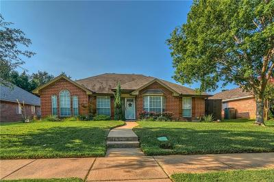 Lewisville Single Family Home Active Option Contract: 724 Blue Oak Drive
