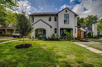 Dallas County Single Family Home For Sale: 5634 Winton Street