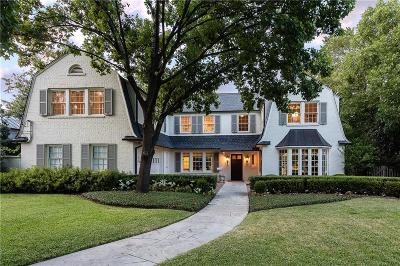 Dallas County Single Family Home Active Option Contract: 5555 Waneta Drive