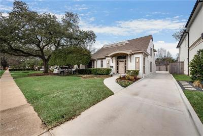 Highland Park Single Family Home For Sale: 4512 Southern Avenue