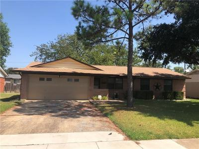 Farmers Branch Single Family Home Active Option Contract: 3041 Cameo Lane