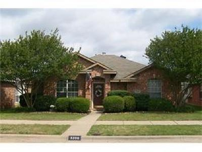 Mckinney Single Family Home For Sale: 3209 Weeping Willow Court
