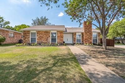 Plano Single Family Home Active Option Contract: 6529 Chalk Court