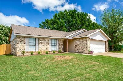 Watauga Single Family Home Active Option Contract: 7928 Meadowbrook Drive