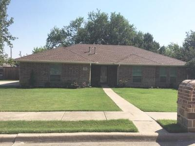 Sachse Single Family Home For Sale: 3506 Bryan Street