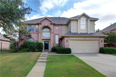 Mansfield Single Family Home For Sale: 2310 Grimsley Terrace